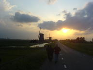 2007 amsterdam sunset windmill // 1632x1224 // 232.3KB