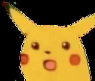 meme pikachu png reaction_image transparent_background // 128x109 // 12.5KB