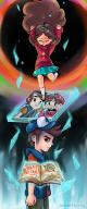 Dipper_Pines Gravity_Falls Mabel_Pines // 1500x3589 // 6.8MB
