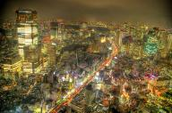 cityscape hdr night tokyo // 2000x1330 // 851.9KB